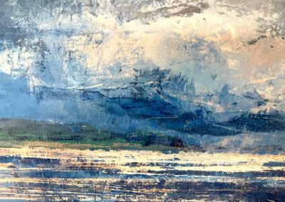 Abstract Galway Bay