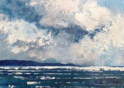 Burren in blue light